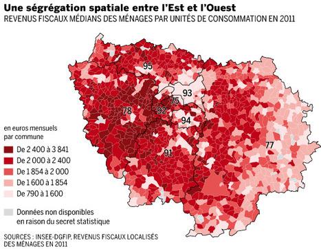 En Ile-de-France, le FOSSÉ entre riches et pauvres se creuse plus qu'ailleurs - Le Monde   Le BONHEUR comme indice d'épanouissement social et économique.   Scoop.it