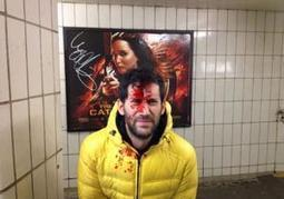 Artist stages fake subway shootings to protest violent movie posters  | Avant-garde Art, Design & Rock 'n' Roll | Scoop.it