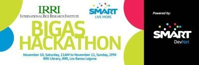 "IRRI, Smart team up to find best agri apps at the ""Bigas Hackathon"" 