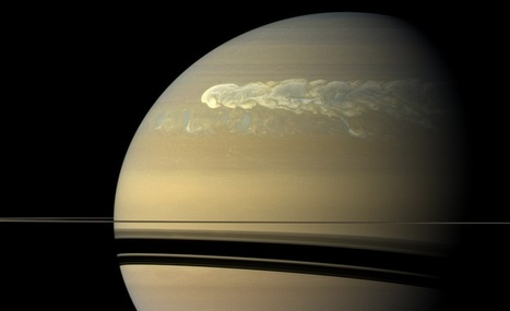 Quand un gigantesque ouragan fait le tour de Saturne | Merveilles - Marvels | Scoop.it