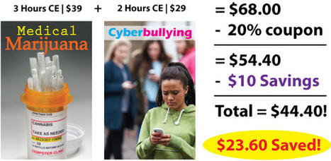 $10 Off Online CE Ends Tonight - Final Hours to Save - PDResources | Continuing Education for Mental Health Professionals | Scoop.it
