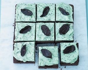 Mint chocolate cake: Recipes: Good Food Channel | My Favourite Foodie Recipes | Scoop.it