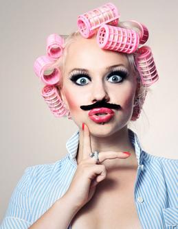 Comment porter la moustache... quand on est une femme ? | Ablacarolyn | Scoop.it