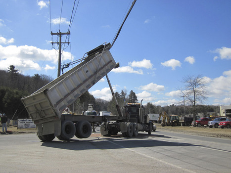 Commercial truck snafu causes traffic delay on Route 8 - Berkshire Eagle | brake failure | Scoop.it