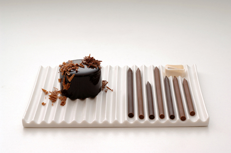 Chocolate Pencils by Nendo | Food Meditations Time | Scoop.it