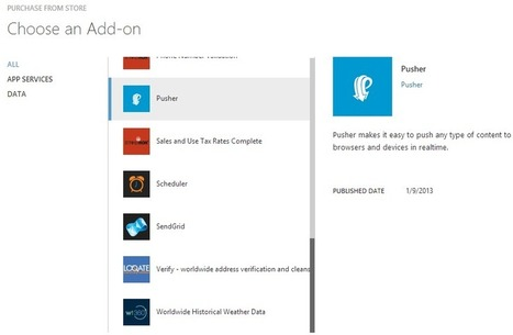 Building real time applications with Azure Mobile Services | AspNet MVC | Scoop.it