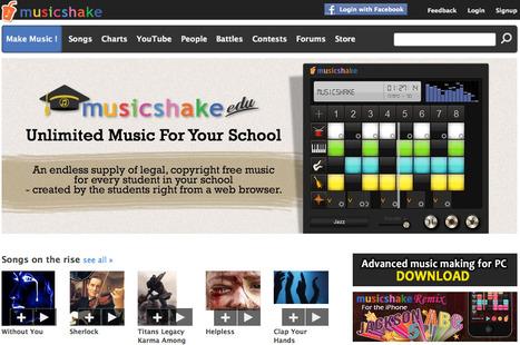 Musicshake - Create your own songs | educacion-y-ntic | Scoop.it