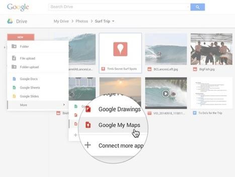 Le service Mes Cartes de Google s'invite chez Drive | Actus Marketing & Communication pour l'immobilier | Scoop.it