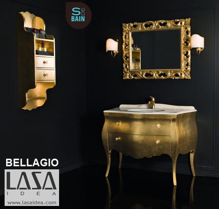 Collection de meubles de salle de bain Bellagio - LASA IDEA | Design de la salle bain | Scoop.it