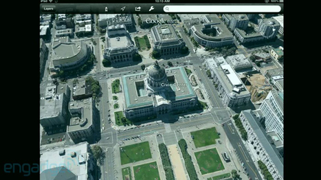 Google Unveils 3-D Mapping Imagery For iOS Devices | iPads in Education Daily | Scoop.it