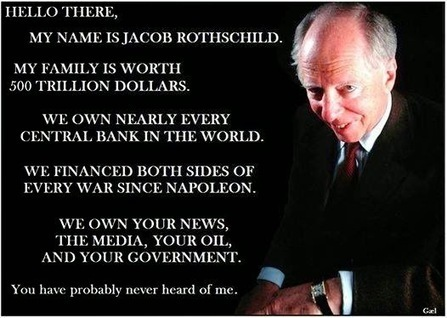 'These 13 Families Rule the World: The 'Shadow Forces' Behind the #NWO'   From the Trenches World Report   News You Can Use - NO PINKSLIME   Scoop.it