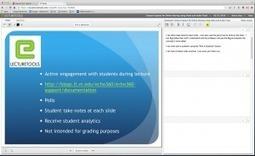 Using LectureTools for Student Engagement   3C Media Solutions   Scoop.it