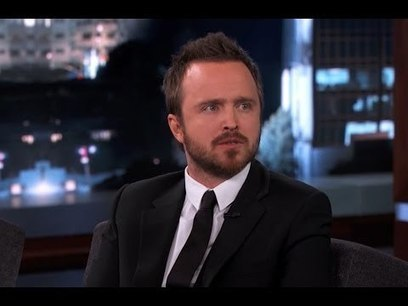Aaron Paul on Jimmy Kimmel Live PART 3 | Money | Scoop.it