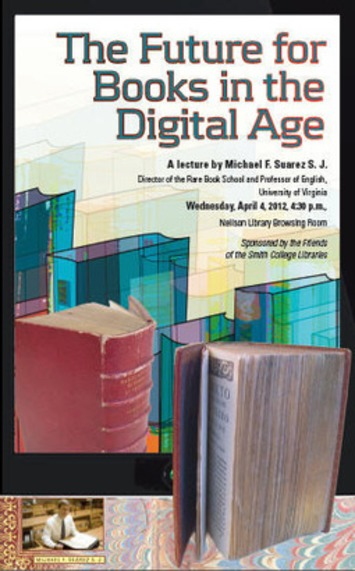 Michael Suarez: The Future for Books in the Digital Age | Antiques & Vintage Collectibles | Scoop.it