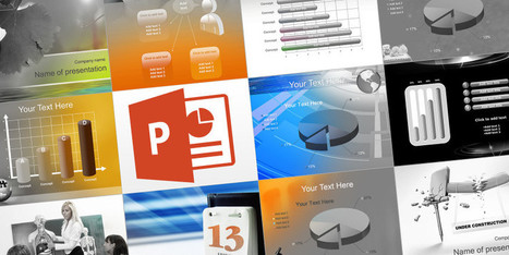 Where to Find Free PowerPoint Themes & Templates (Presentations) | Handy Online Tools for Schools | Scoop.it