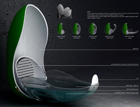 La salle de bain du futur en images les maiso for Salle de bain du futur