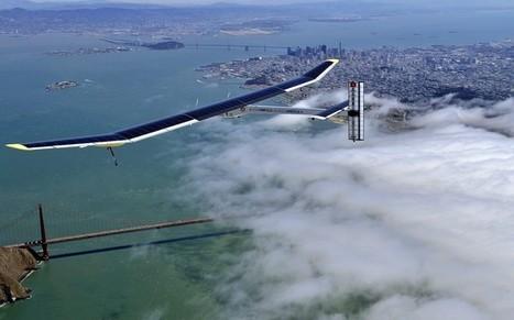 The solar-powered plane Solar Impulse prepares for flight around the world  - Telegraph   Evolution et développement   Scoop.it