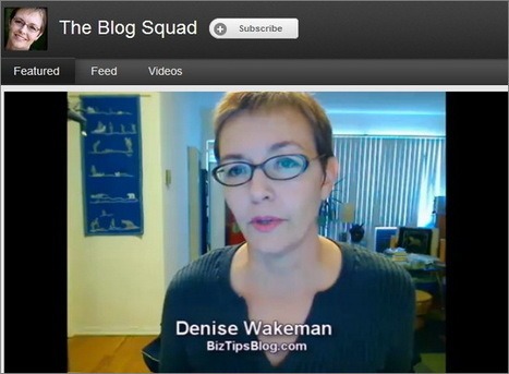 10 YouTube Channels for Bloggers, By Bloggers | Online Marketing Resources | Scoop.it