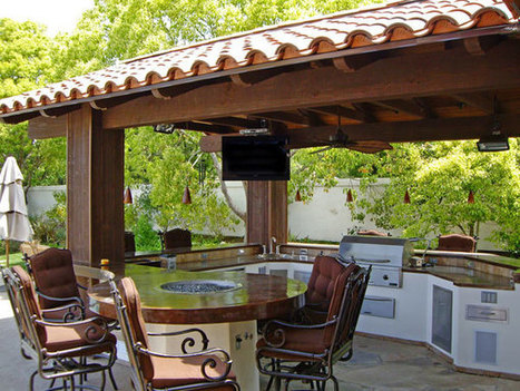 Summer Outdoor Kitchen Ideas   Rhinway- home design   Scoop.it
