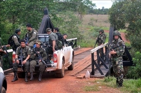Paraguay: Cartes podrá militarizar determinadas zonas del país por Decreto, según proyecto aprobado por Diputados | E'a | Red permanente de defensa de los procesos demócraticos y populares del MERCOSUR | Scoop.it