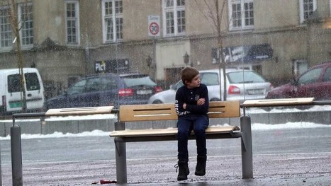 This Boy Was Sitting by Himself, Without a Jacket, at a Bus Stop on a Snowy Day; Here's How People Reacted | Business & Marketing | Scoop.it