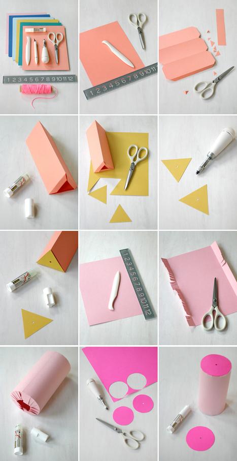 Giant Paper Bead Garland | DIY pour enfants | Scoop.it