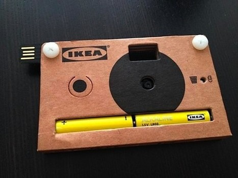Ikea cardboard digital camera: when Instagram isn't authentic enough (video) - Engadget | HDSLR news | Scoop.it