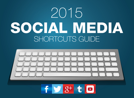 The 2015 Social Media Keyboard Shortcuts Guide - Infographic - Set Up a Blog Today | My Startup | Scoop.it