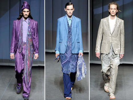 The Mahabharata inspires ETRO Men's collection | Fashion Bloggers | Scoop.it