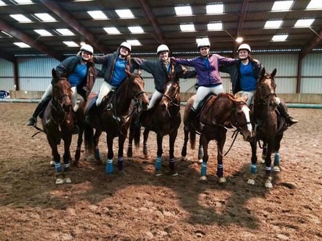 Horse ball : les cavalières de Bel Air   horse ball   Scoop.it