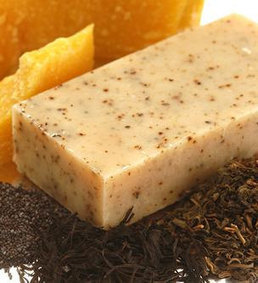 Green Tea Body Scrub Soap with Seaweed and Honey - Gourmet Soap Bar Handmade in Tasmania   Beauty and the Bees Tasmania   Scoop.it