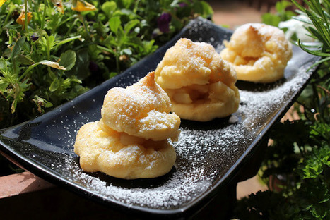 La dieta mediterránea: Buñuelos de manzana GLUTEN FREE! Una buena opción para este puente...a disfrutar!   Gluten free!   Scoop.it