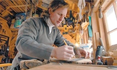 Craftsman turns 'garden debris' into furniture, woodworks | Home & Garden | Scoop.it