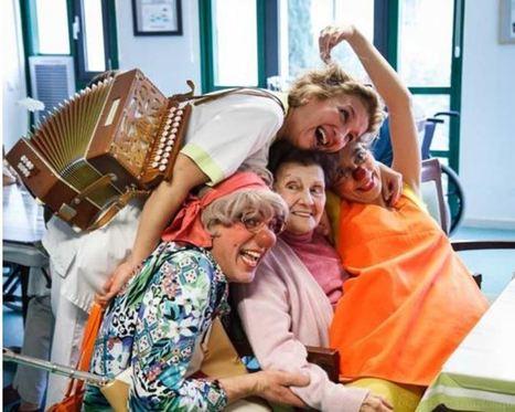 A Lyon, des clowns rencontrent des personnes âgées atteintes de la maladie d'Alzheimer | Seniors | Scoop.it