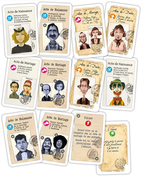 Scribavita | Un jeu de société sur la généalogie | Rhit Genealogie | Scoop.it