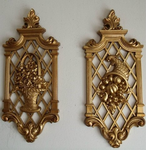 Syroco Wall Plaques Set Of Two Flower Basket And Horn Of Plenty Design - Plaques   GOSSIP, NEWS & SPORT!   Scoop.it