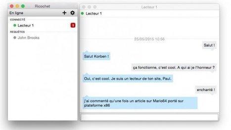 Ricochet : La messagerie instantanée anonyme | Libertés Numériques | Scoop.it