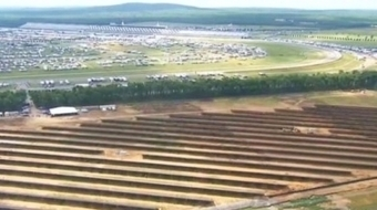 GREEN: Pocono Raceway Solar Farm Hits Milestone | Sports Facility Management.4304776 | Scoop.it
