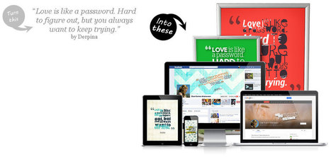 Create Beautiful Looking Quotes Picture | SEO, SEM & Social Media NEWS | Scoop.it
