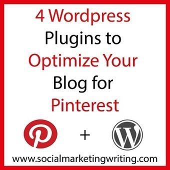 4 WordPress Plugins To Optimize Your Blog For Pinterest | Actu culinaire | Scoop.it