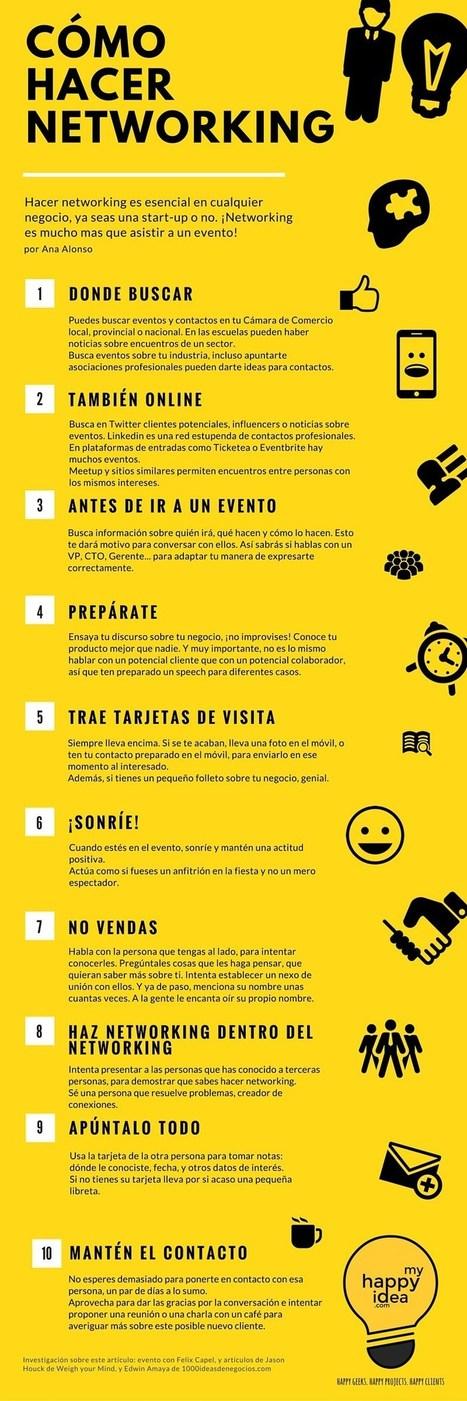 Las 10 claves del networking efectivo (infografía) | Estrategias de Curación de Contenidos: | Scoop.it