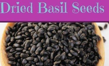 Basil Seeds Have Health Benefits. Who Knew? | zestful living | Scoop.it