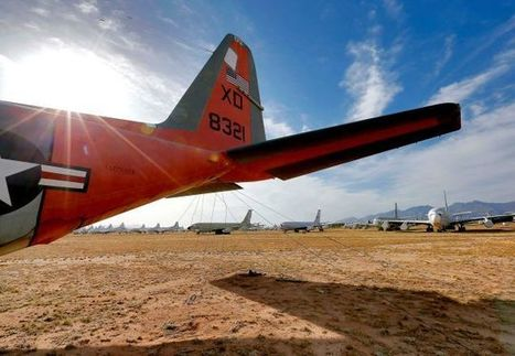 The Eerie Boneyard Where Military Planes Go to Die | Strange days indeed... | Scoop.it