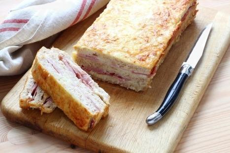 Le CROQUE-CAKE, c'est le NOUVEAU croque-monsieur - Diaporama 750 grammes   Actu culinaire   Scoop.it