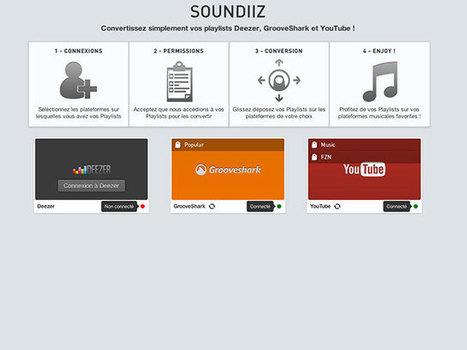 Convertir ses playlists Deezer / Grooveshark / YouTube | Ressources Numériques | Scoop.it