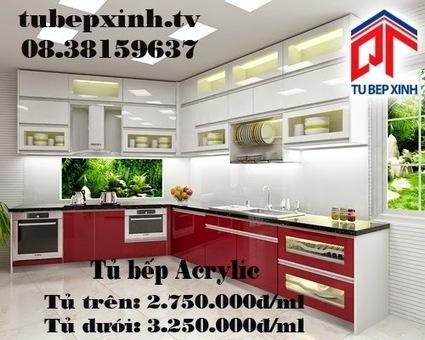 Tủ bếp, kệ bếp, phụ kiện tủ bếp với giá tốt nhất tại TP HCM 08.38159637 - 08.38159639: Tủ bếp, tủ bếp Acrylic nhà chị Kỳ tại Gò Vấp - mẫu tủ bếp hiện đại | Tủ bếp, tủ bếp hiện đại với thiết kế đẹp, mang niềm vui đến gia đình bạn | Scoop.it