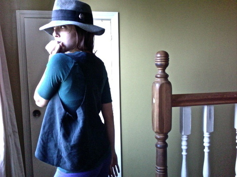 THE SISTERS FOUR: the no-sew sweatshirt vest | Couture facile | Scoop.it