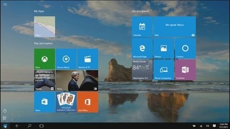 lynda.com Training | Windows 10 New Features | Education Technologies | Scoop.it | Scoop.it