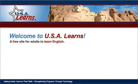 U.S.A. Learns: web-based multimedia system for adults to learn English | Technology and language learning | Scoop.it