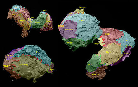 Ten new Rosetta images that reveal comet 67P in all its glory | Epic pics | Scoop.it